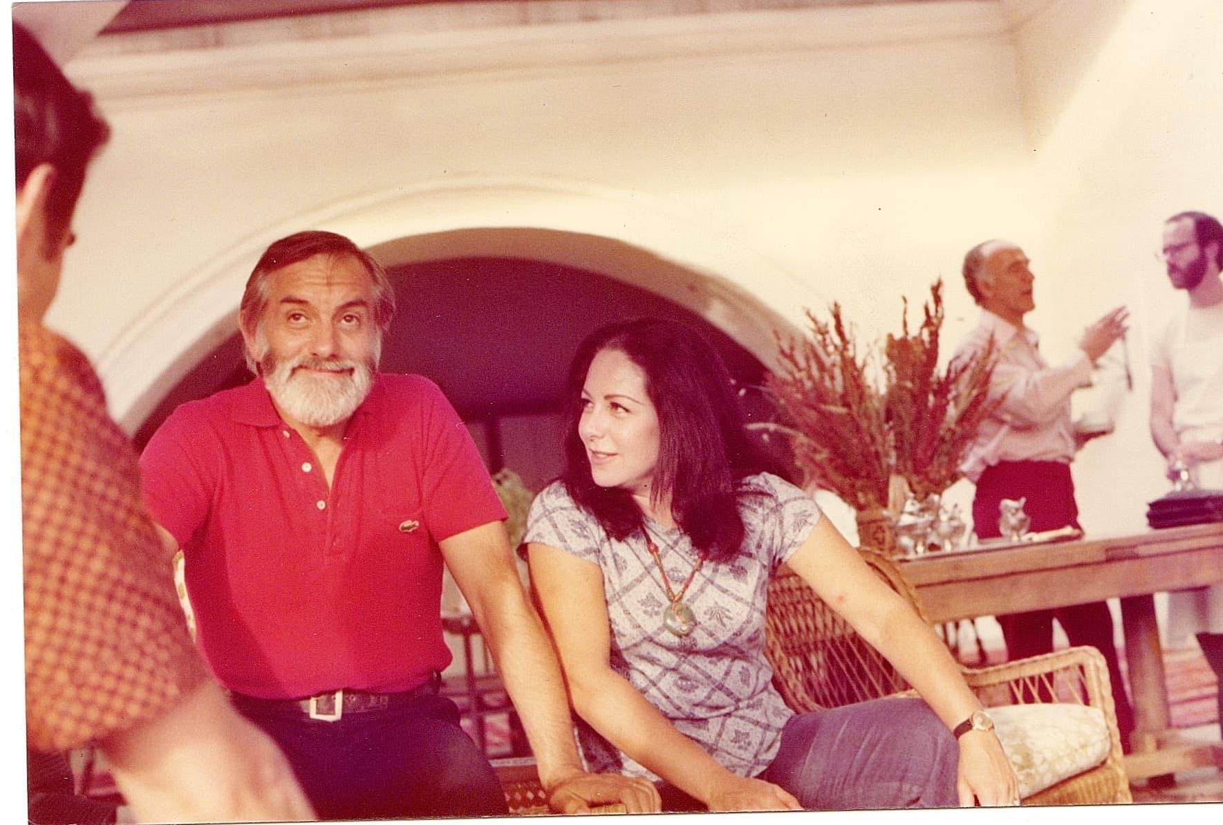 A + Jean TG Mondavi Vineyards Nov. 76