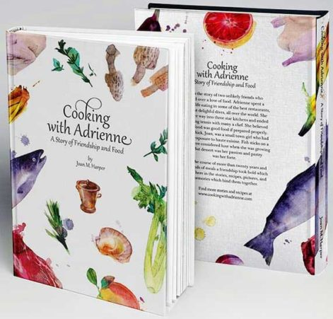 Cooking with adrienne Book