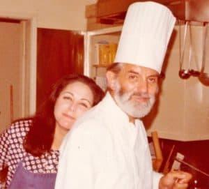 A with Jean Troisgros Nov 1976
