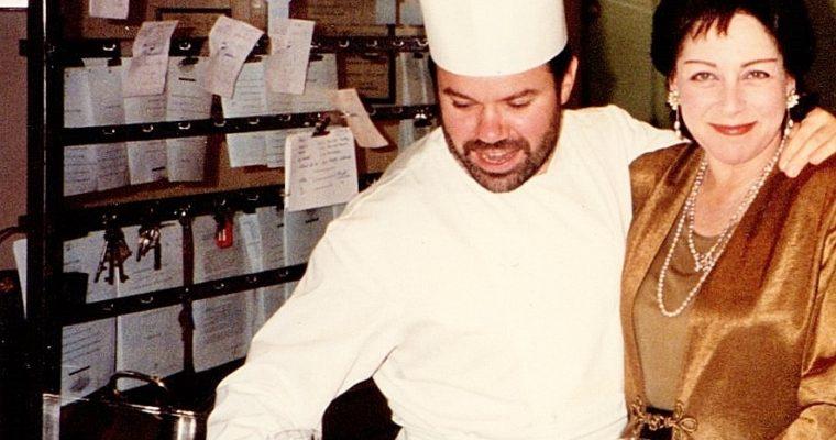 Troisgros kitchen with Michel 1994